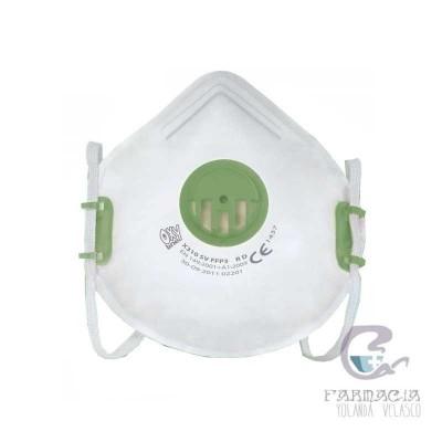Mascarilla EPI FFP3 con Válvula