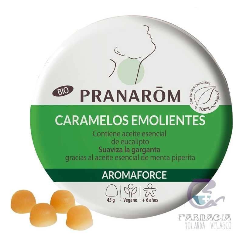 Pranarom Aromaforce Caramelos Emolientes Eucalipto-Menta