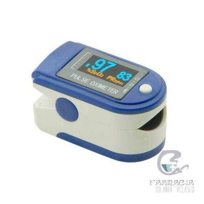 Pulsioximetro De Dedo Adulto Contec CMS50D