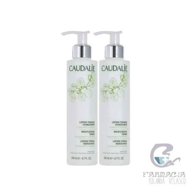 Caudalie Duo Loción Tónica Hidratante 2x200 ml