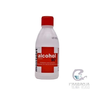 Alcohol Montplet 96 250 ml