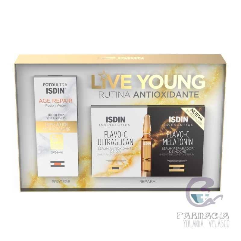 Isdin Pack Photoaging Age Repair 5 + 5 Day & Night
