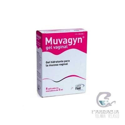 Muvagyn Gel Monodosis 5 ml 8 Monodosis