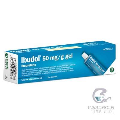 Ibudol 50 mg/g Gel Tópico 60 gr