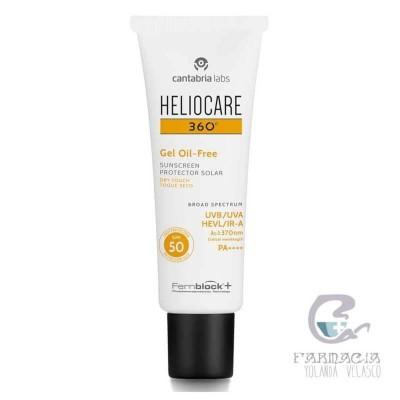 Heliocare 360º SPF50 Fluido Gel Oil Free 50 ml