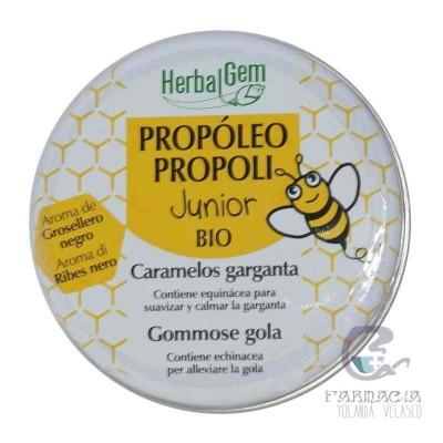 Herbalgem Propoleo Junior Caramelos Garganta