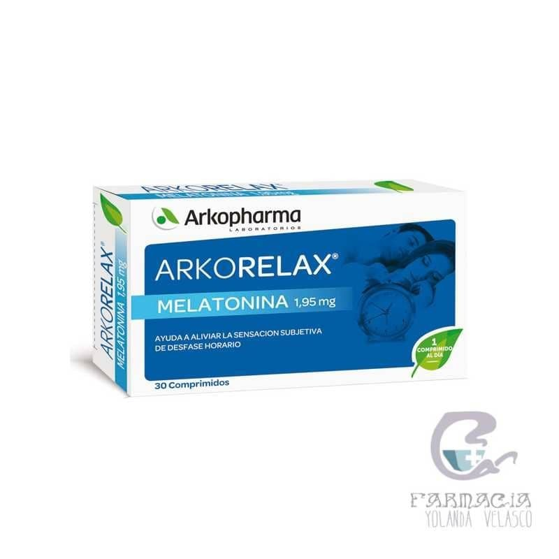 Arkorelax Melatonina 1,95 mg 30 Comprimidos