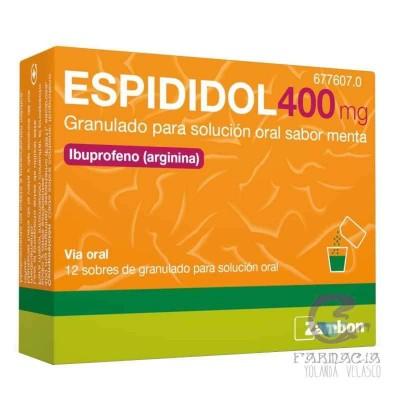 Espididol 400 mg 12 Sobres Granulado Solución Oral Menta