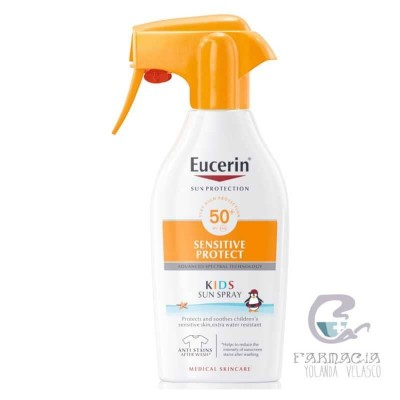 Eucerin Sun Protection 50+ Spray Infantil Sensitive 300 ml