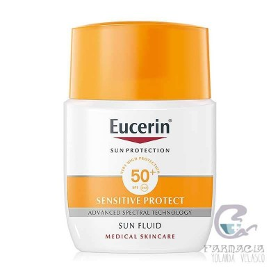 Eucerin Sun Protection 50+ Fluid Rostro Matt. 50 ml