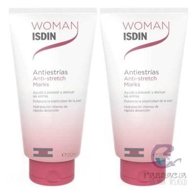 Woman Isdin Duplo Antiestrías Elasticidad 2x250 ml