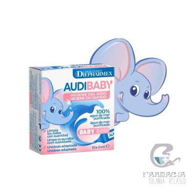 Audi Baby Solución Limpieza Oídos 1 ml 10 Monodosis