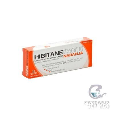 Hibitane 5 mg/ml 20 Comprimidos Para Chupar Sabor Naranja