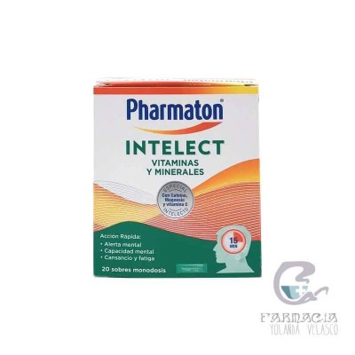 Pharmaton Intelect 20 Sobres