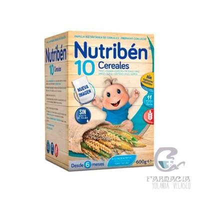 Nutriben Papilla 10 Cereales