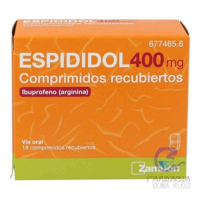 Espididol 400 mg 18 Comprimidos Recubiertos