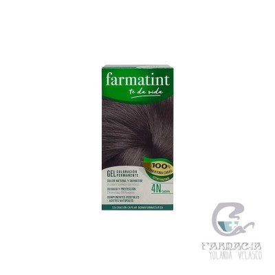 Farmatint 135 ml 4N Castaño