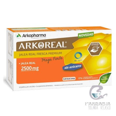 Arko Jalea Real 2500 mg Sin Azucar Megaforte
