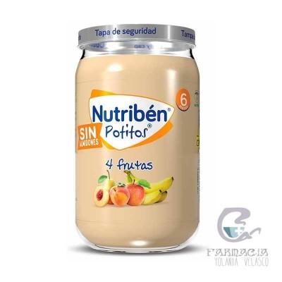 Nutriben Potito 4 Frutas 235 gr