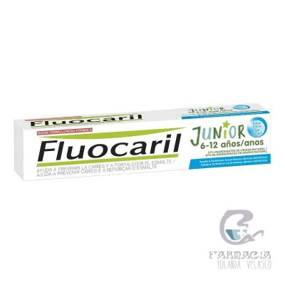 Fluocaril Junior 6-12 Años Gel 75 ml Bubble
