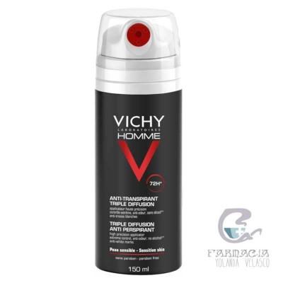 Vichy Hombre Desodorante Triple Difusión 72 horas