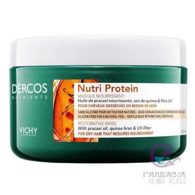 Vichy Dercos Nutrients Nourish Mascarilla 250 ml