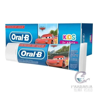 Oral-B Cars Pasta Dental Infantil 75 ml