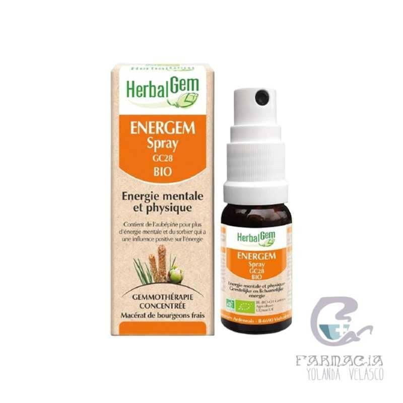 Pranarom Herbalgem Energem 10 ml