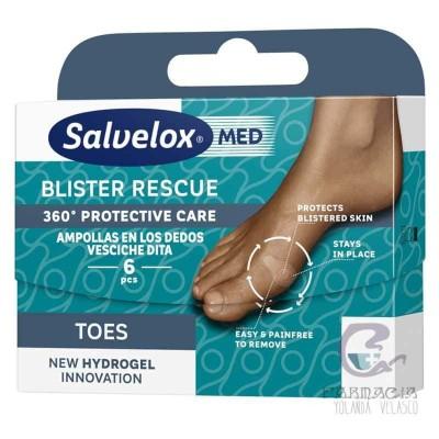 Salvelox Blister Rescue Ampolla Dedos 6 Unidades