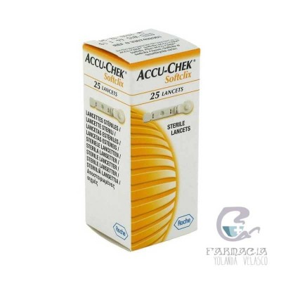 Accu-Chek Softclix Lancetas 25 Lancetas