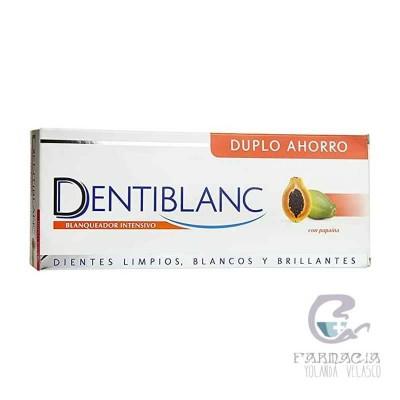 Dentiblanc Blanqueador Intensivo Pasta Dental Duplo 2x100 ml