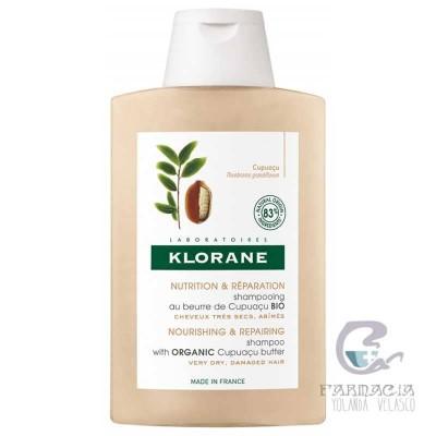 Klorane Champú a la Manteca de Cupuaçu Bio 400 ml