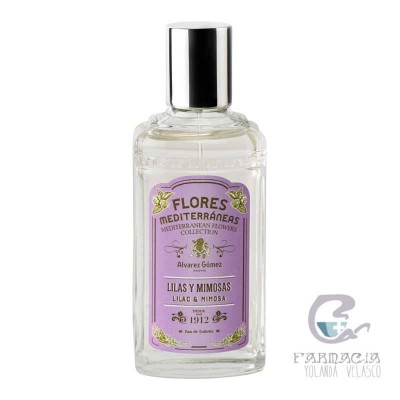 Álvarez Gómez Flores Mediterráneas Lilas y Mimosas Spray 150 ml