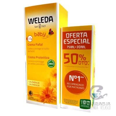 Weleda Crema de Pañal Caléndula 75 + 30 ml