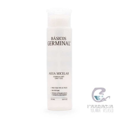Germinal Essential Agua Micelar Desmaquillante Cara y Ojos 200 ml