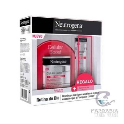 Neutrogena Cellular Boost Crema Día + Contorno de Ojos