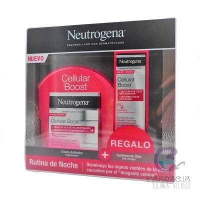 Neutrogena Cellular Boost Crema Noche + Contorno de Ojos