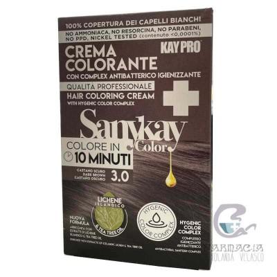 Sanykay Crema Colorante Castaño Claro 3.0