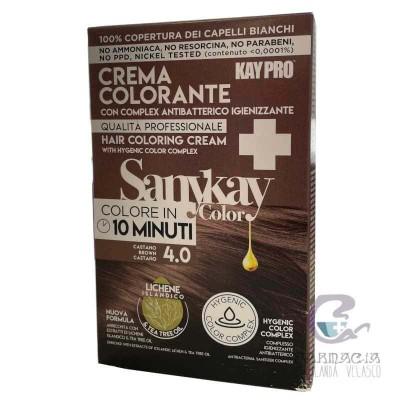 Sanykay Crema Colorante Castaño 4.0