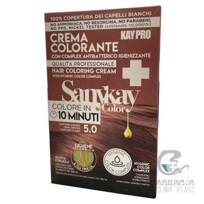 Sanykay Crema Colorante Castaño Claro 5.0