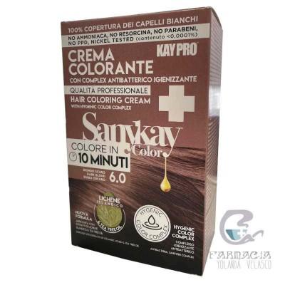 Sanykay Crema Colorante Rubio Oscuro 6.0