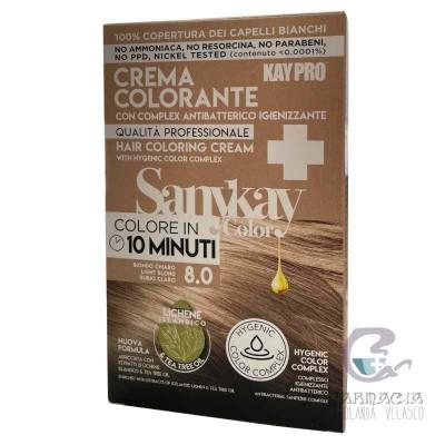 Sanykay Crema Colorante Rubio Claro 8.0