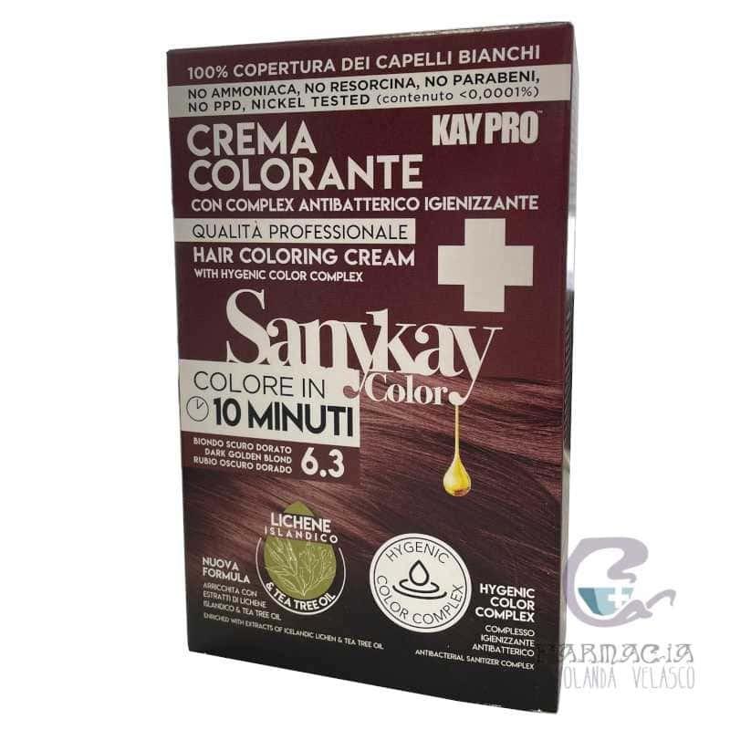 Sanykay Crema Colorante Rubio Oscuro Dorado 6.3