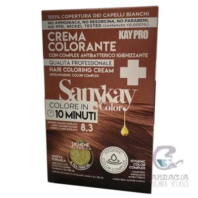 Sanykay Crema Colorante Rubio Claro Dorado 8.3