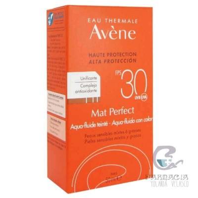 Avene Mat Perfect Aqua Fluído con Color SPF 30 50 ml