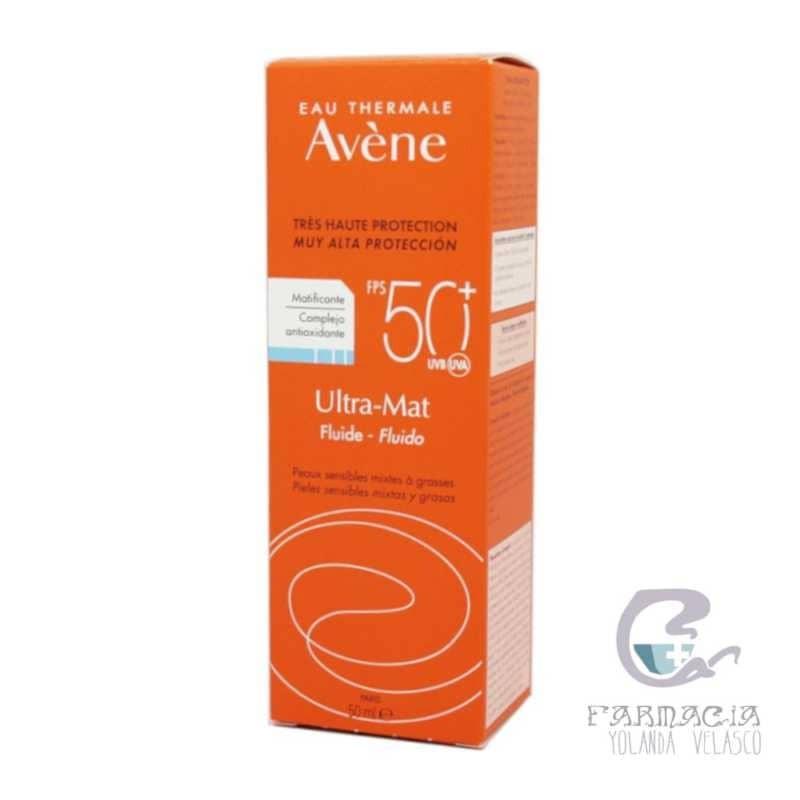 Avene Ultra Mat Fluído SPF 50+ 50 ml