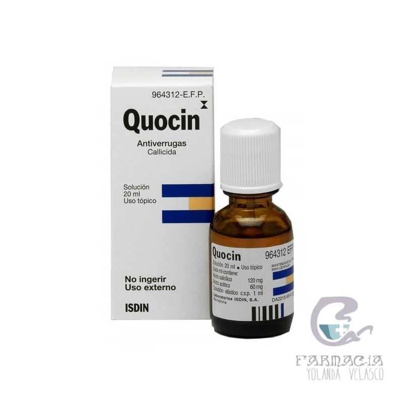 Quocin 120 mg/ml + 60 mg/ml Colodion 1 Frasco 20 ml
