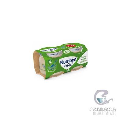 Nutriben Potito Inicio a las Verduras Judias Verdes Patatas 2 Envases 120 gr
