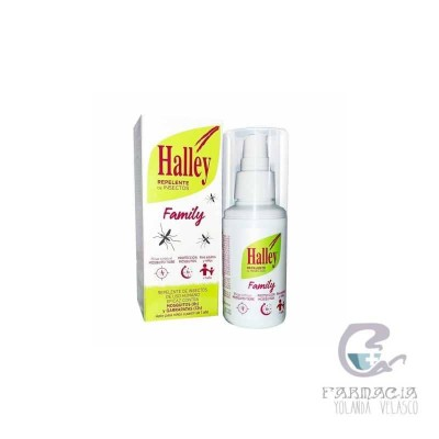 Halley Family Repelente de Insectos 1 Vaporizador 100 ml