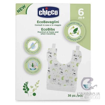 Chicco Babero Biodegradable 36 Unidades